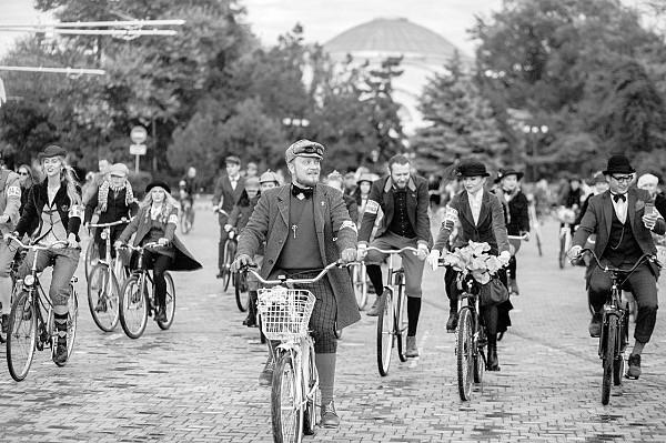 Твидовый велокруиз в Евпатории