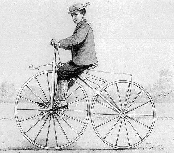 Усовершенствованная модель велосипеда