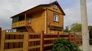 Деревянный дом, каркасный с эксклюзивной домовой резьбой Евпатория