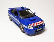 Полицейские машины мира №4 Subaru Impreza. Полиция Франции Евпатория