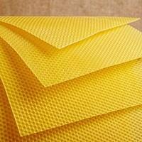 Натуральная вощина из пчелиного воска, опт розница