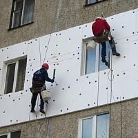 Высотные работы: утепление фасадов и кровля на балконах многоэтажных домов. Договор-гарантия. Евпатория